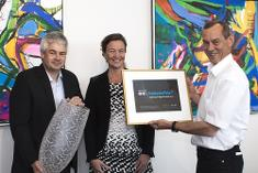 CEO of AET, Hans Erik Askov receives DI's iniative award
