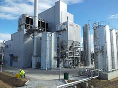 The Helius CoRDe biomass fired CHP plant Of to a successful start.